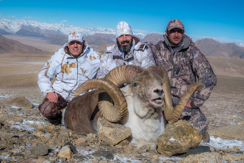 Hunting in Tajikistan for Marco Polo sheep